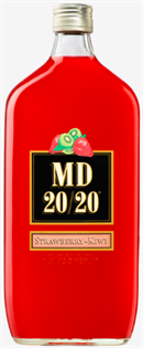 Mogen David Strawberry Kiwi 20/20 750ml - Case of 12